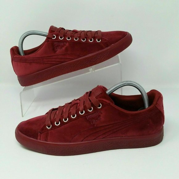 Puma Shoes | Clyde Velour Ice Mens